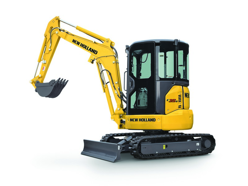 7900lbs 10 2 Quot Depth Mini Excavator Franklin Equipment